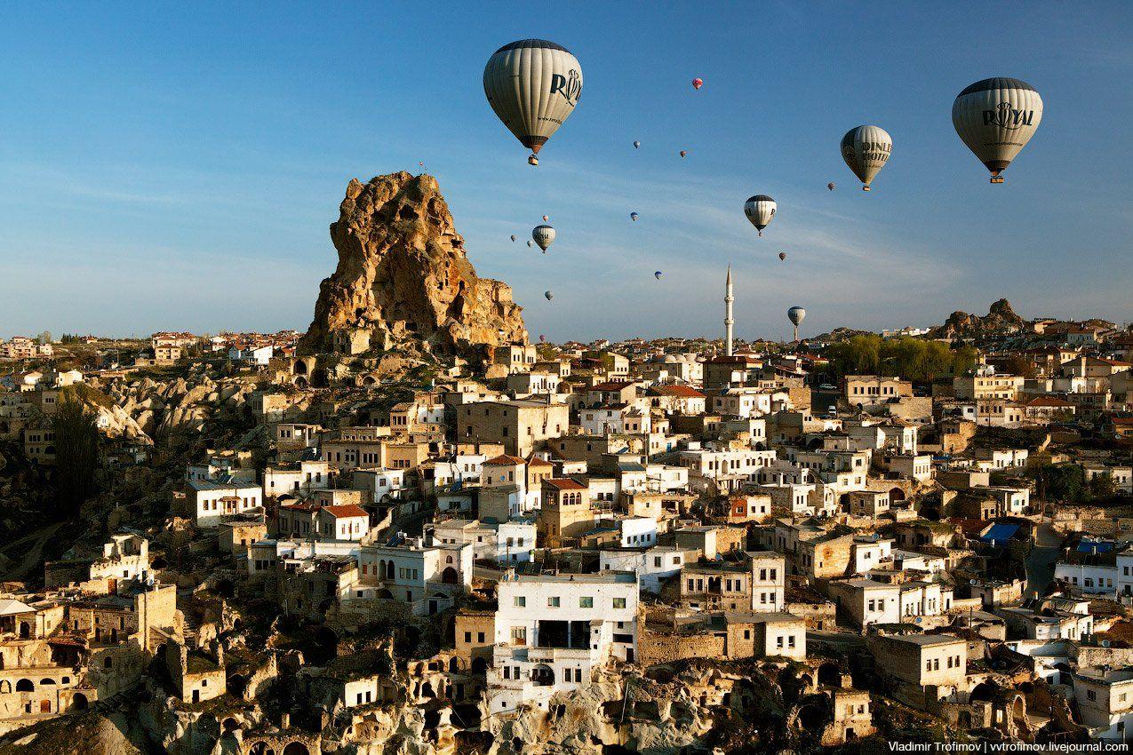 turkey, cappadocia, турция, каппадокия, Vladimir Trofimov