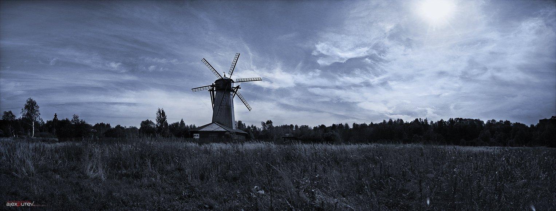 панорама,мельница,природа,путешествие, Александр Путев