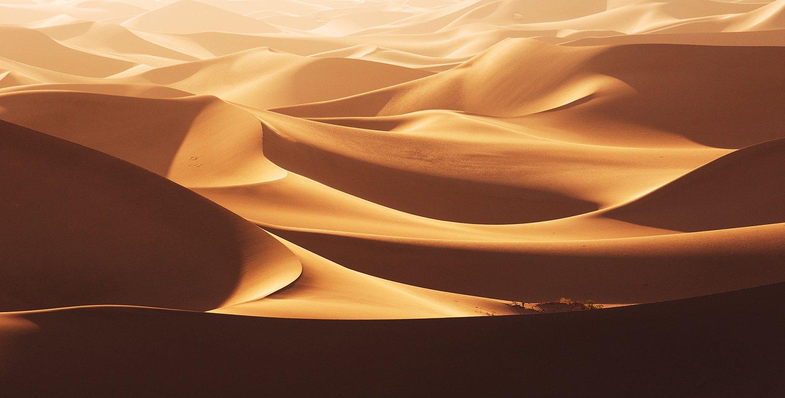 death, valley, dunes, usa, sunrise, Сергей Кузнецов