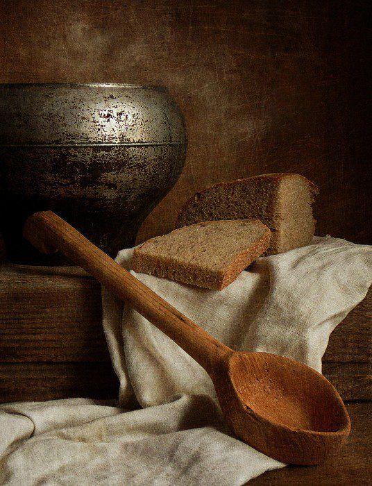 хлеб, ложка, Людмила Д