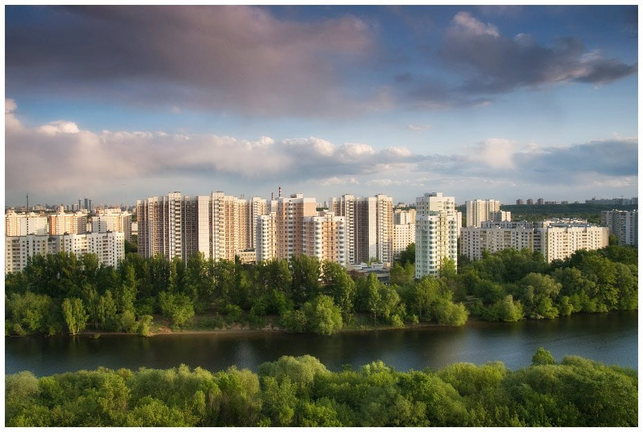 москва, река, май, город, Алексей Самарин