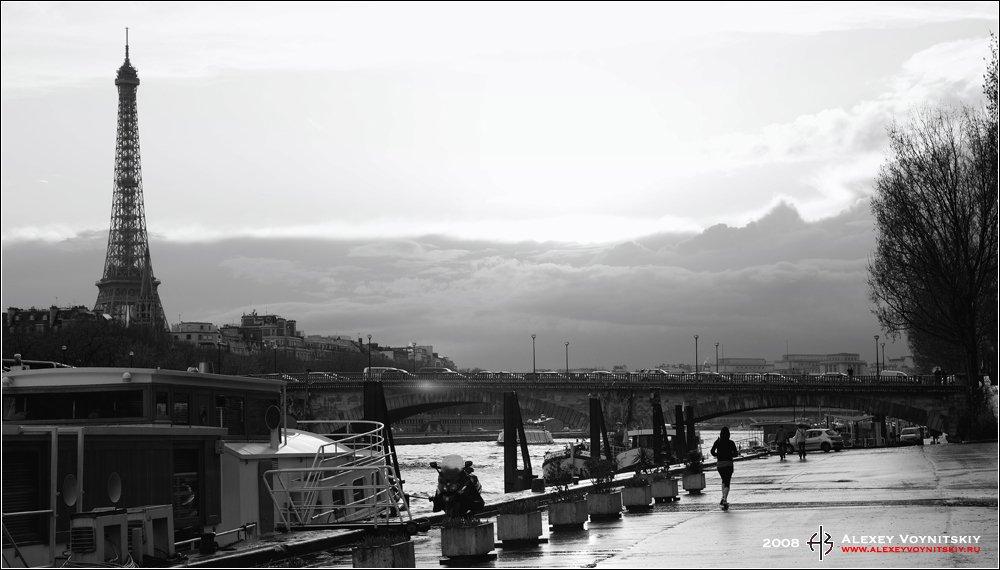 париж франция эйфелева башня, Алексей Войницкий