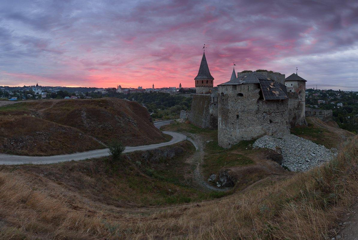 украина, каменец-подольский, крепость, утро, рассвет, Alex Darkside