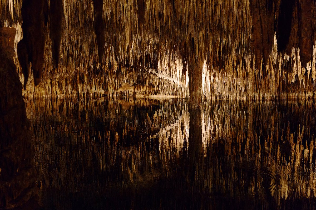майорка, пещера, дракон, отражение, природа, Александр Константинов