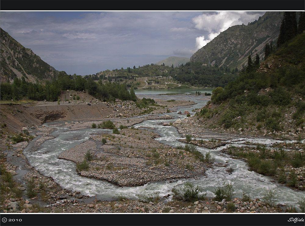 Устье реки Иссык.