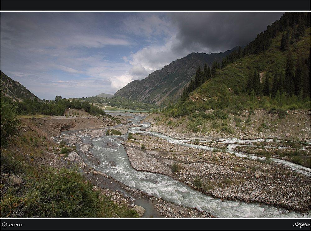 Устье реки Иссык II.