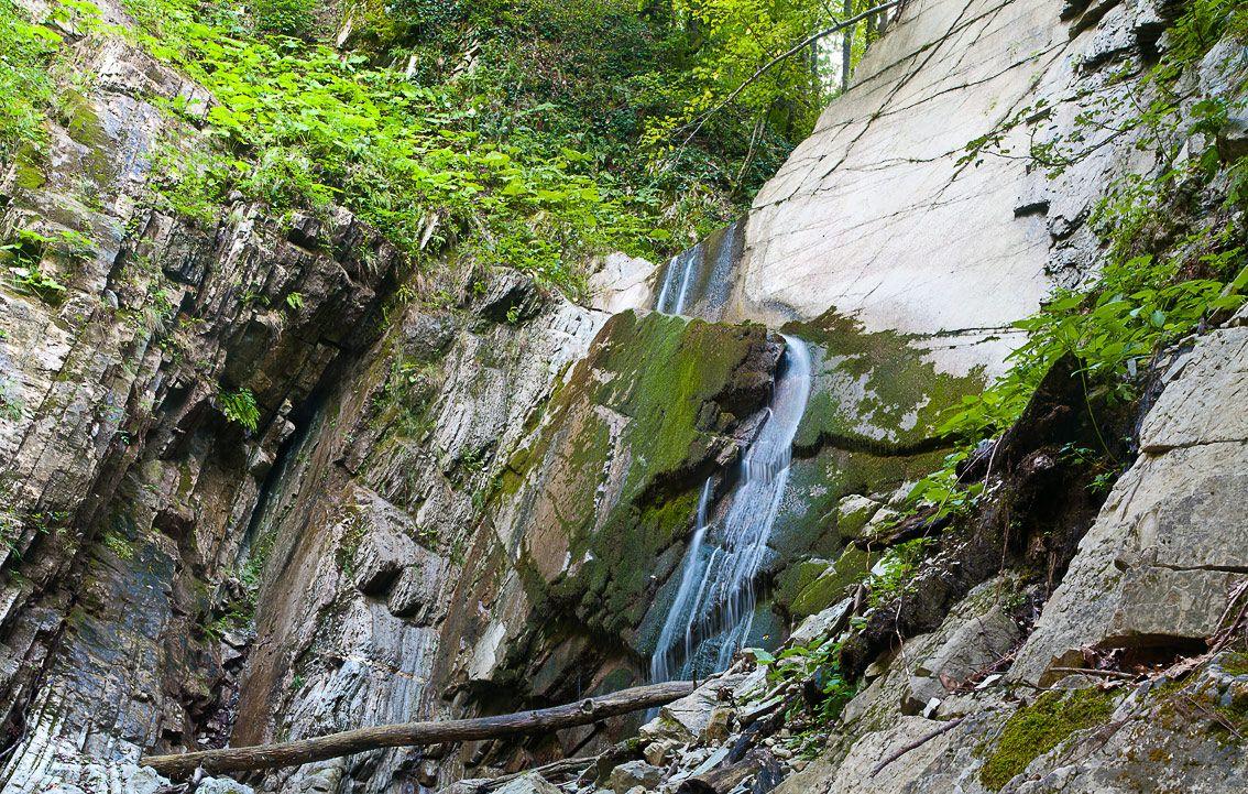 Один из последних водопадов (начало реки)