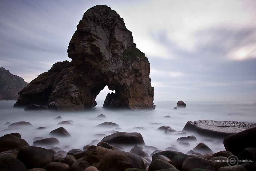 """Malhada do ouriçal"", photographed at Sintra Cascais natural park, with it's big rock called ""pedra pombeira""; Visit me at (Посетите меня на)  http://www.pedrocarmonasantos.com/"