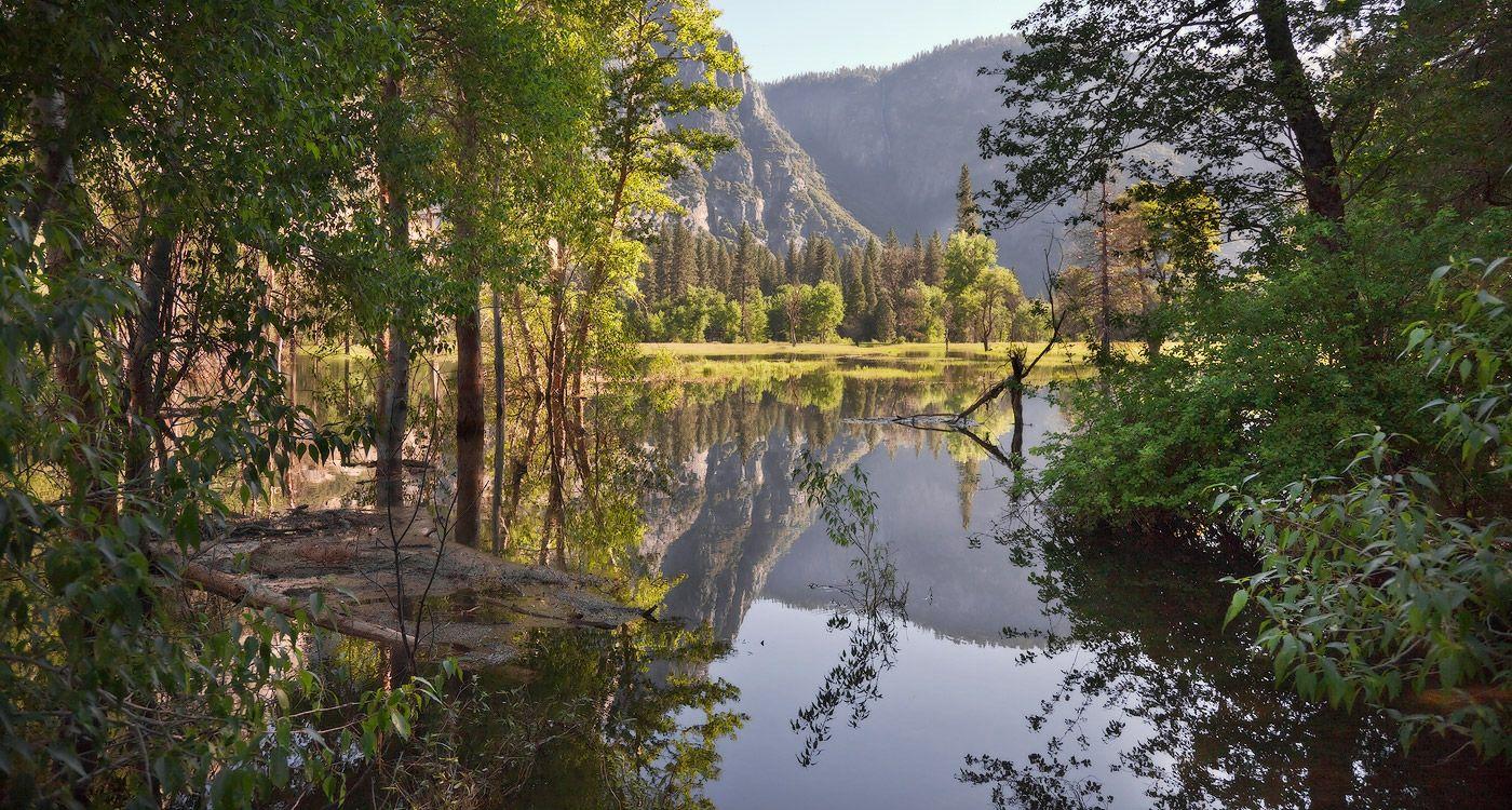 4. Долина Йосемити занимает только один процент от общей территории парка, но именно туда стекается большинство посетителей.