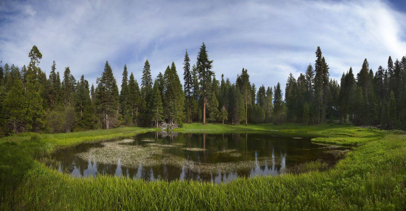 9. Парк знаменит своими роскошными лесами, сказочными озерами...