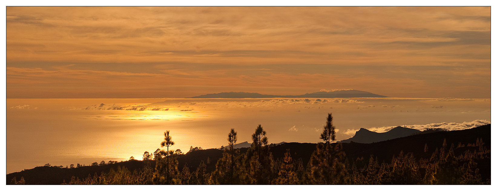 Тейде в настоящее время спит, последнее извержение произошло в 1909 году в северо-западной части. Небольшие извержения происходили в 1704 и 1705 годах на северо-восточном крыле вулкана. Извержение 1706 года уничтожило город и порт Гарачико и несколько небольших деревень. Последнее извержение в кальдере Лас-Каниадас произошло в 1798 году в западной части Пико Виехо.