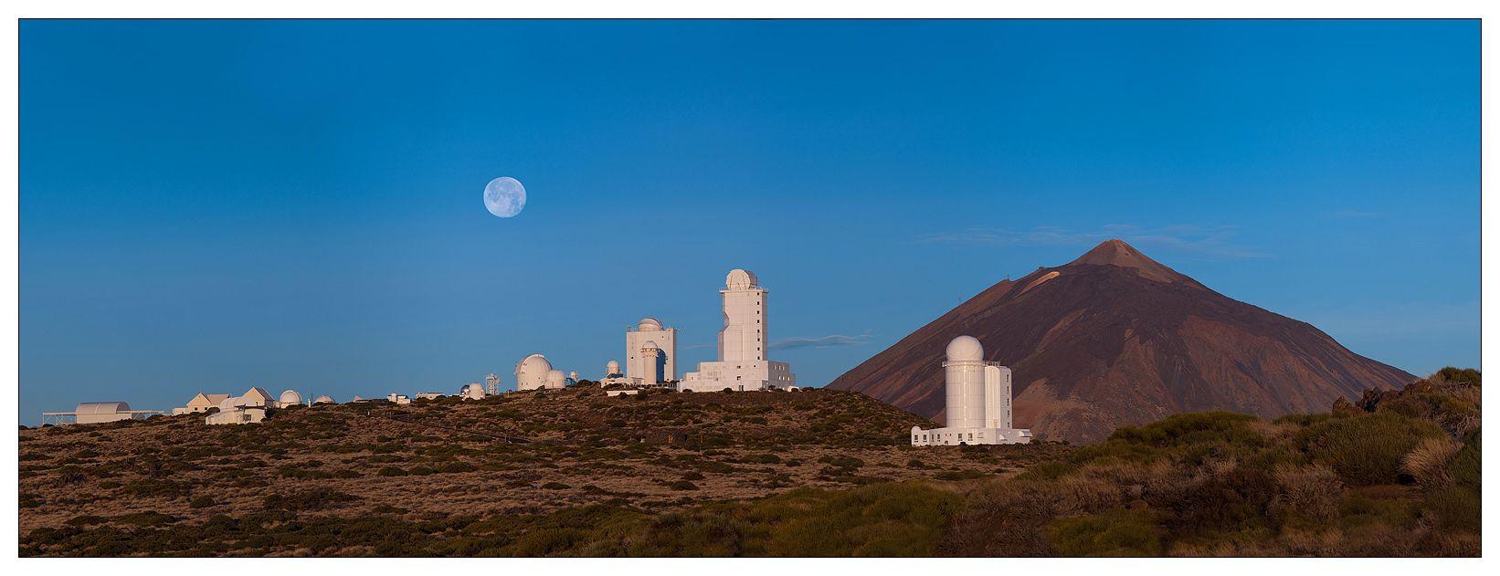 Сегодня Обсерватория Тейде на Тенерифе и Обсерватория Роке де лос Мучачос (Observatorio del Roque de los Muchachos) на Ла Пальме принадлежат Институту астрофизики Канарских островов (Instituto de Astrofísica de Canarias), штаб-квартира которого находится в городе Ла Лагуна (La Laguna) на Тенерифе, и входят в состав Европейской Северной обсерватории (European Northern Observatory). Эти две обсерватории представляют собой главные центры астрофизических наблюдений в Европе. Здесь работают представители более 60 различных организаций и научных учреждений из 19 стран мира. Их оборудование, установленное на территории обсерваторий, считается уникальным в мире и вызывает интерес крупнейших ученых в области астрофизики со всего мира. Обсерватория Тейде расположена на высоте 2390 м на склоне вулкана на территории 50 га. Исследователи проводят здесь наблюдения за Солнцем и другими небесными телами. Обсерватория Тейде оборудована целым рядом современных ночных и солнечных телескопов.