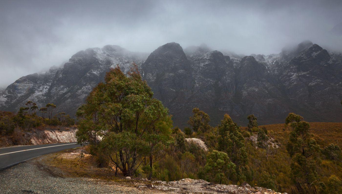Как видно, Тасмания не такой уж теплый остров. У нас есть даже снег:-)