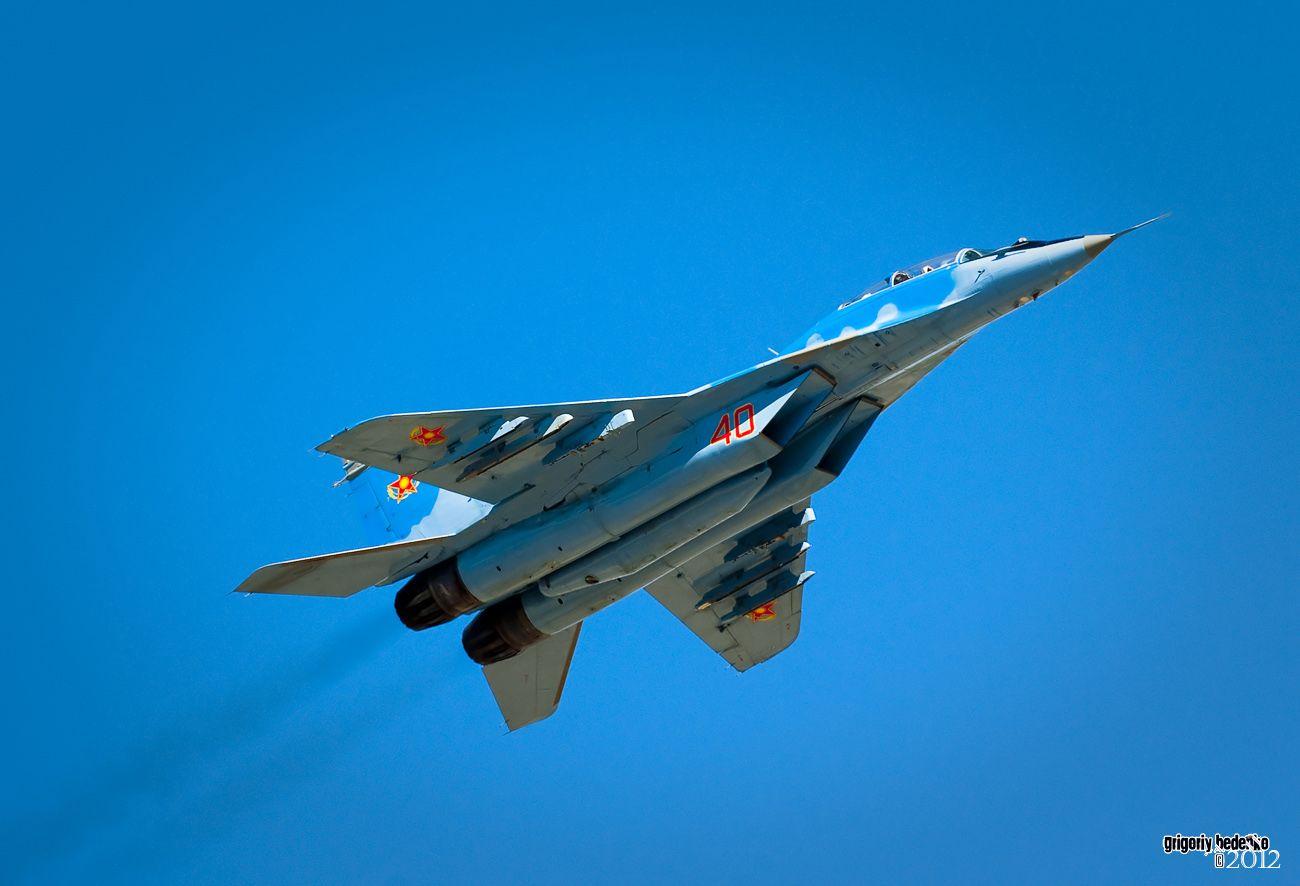 Миг-29 УБ, двухместный многоцелевой истребитель. Основное боевое средство ВВС Казахстана.