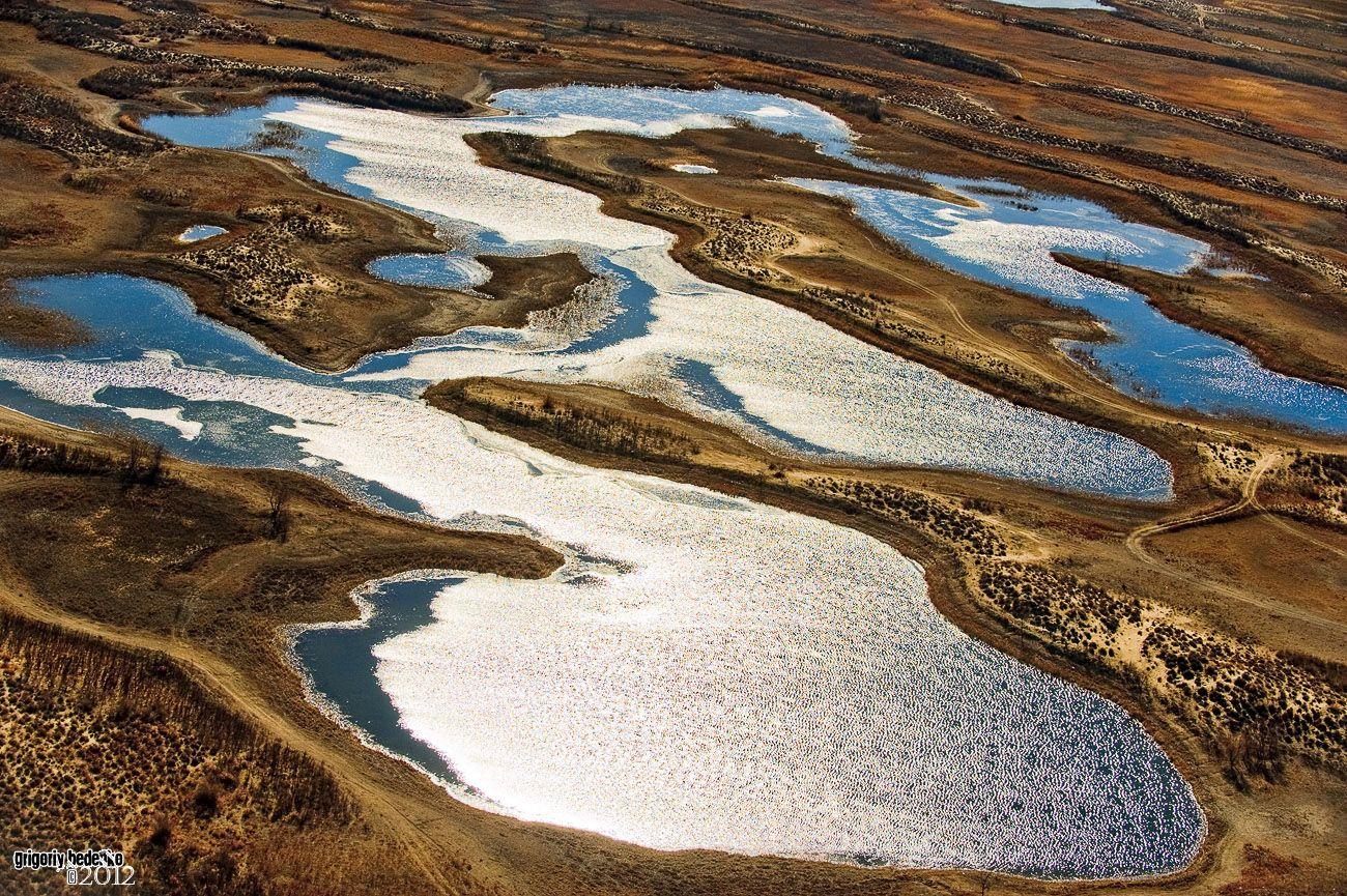 Дельтовые озера на реке Или.