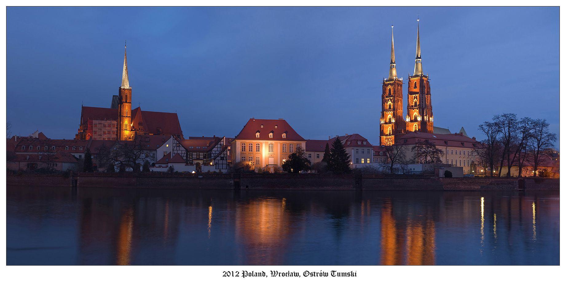 Тумский остров — древнейшая часть Вроцлава, расположенная в старом русле Одры. Название острова переводится как «Кафедральный остров» в честь построенного здесь собора Святого Иоанна Крестителя.