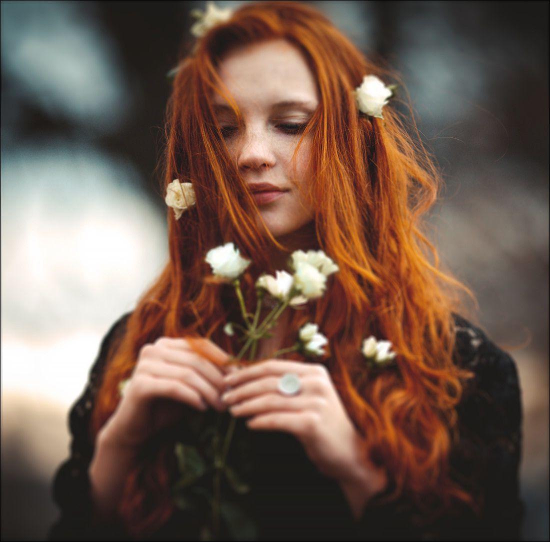 Фотографии рыжих девочек 10 фотография