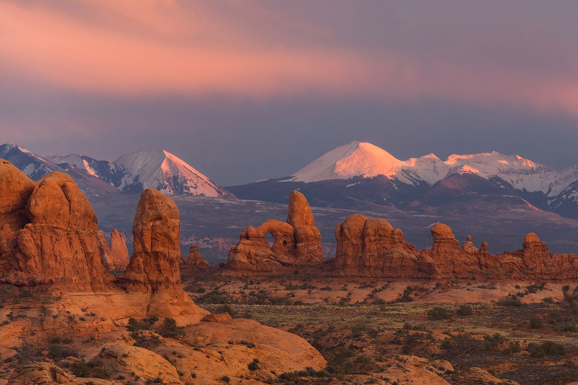 Опоры Земли | Pillars of the Earth. Arches National Park, Utah, USA
