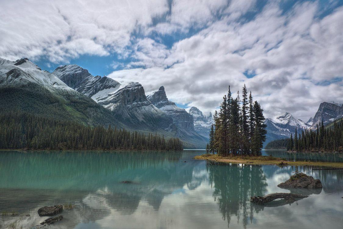 Остров Духа | The Spirit Island. Jasper, Canada.