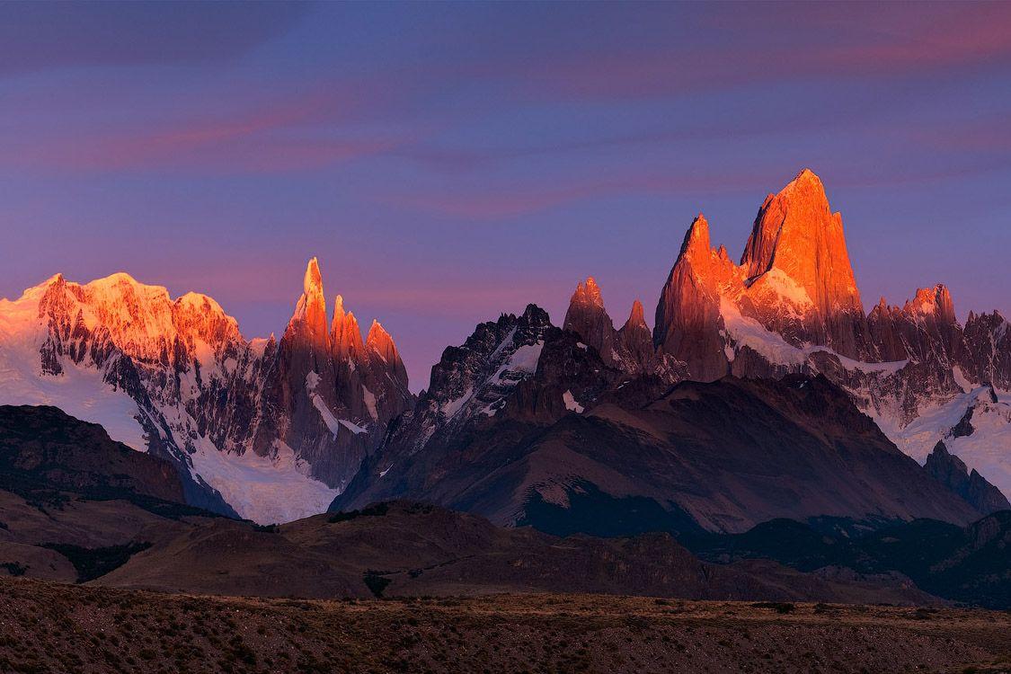 Инферно | Inferno, Fitzroy @ Serro Torre Massifs, Los Glacieres National Park, Patagonia, Argentina
