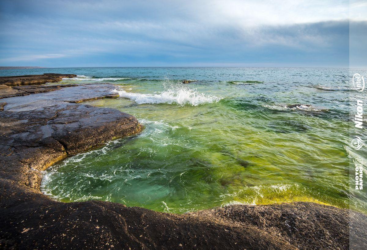 Прозрачность воды на Каспии не уступает озеру Байкал.