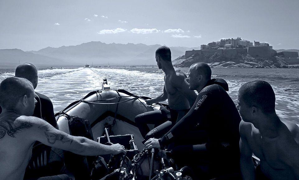 Средиземноморский пейзаж с легионерами