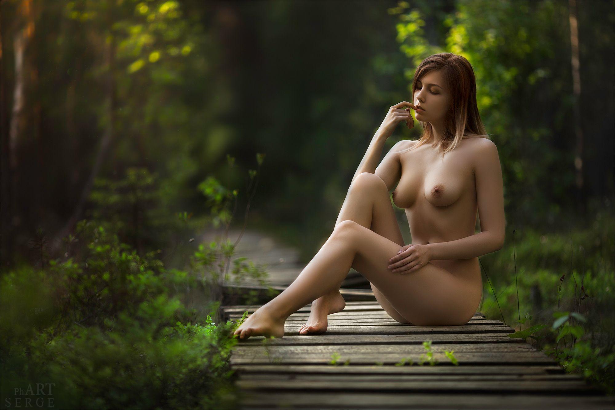 Женская Обнаженная Красота Ню Фото