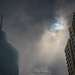 Trump Tower, Plaza 440 tower, and Solar Eclipse
