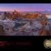 Valle de la Luna and Moon. Location: Valle de la Luna, Atacama desert, Chile