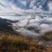 Вид с плато Бермамыт.