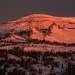 Склона Каларского нагорья. Вид на гору Курган и скальник \