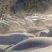 Солнышко, совместно с морозом делали реку ещё привлекательнее..!