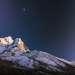 Ama Dablam (6,812 m.) shot from Pangboche, Himalaya, Nepal