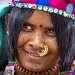 Портрет индийской женщины. Colva Beach. South Goa.