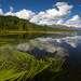 Озеро Язевое во всей красе. Погодка шепчет. Белуха смотрит...