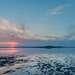 Крым.Кояшское соленое озеро .