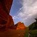 Ущель Джеты-Огуз находится в Киргизии, на южном побережье озера Иссы-Куль.