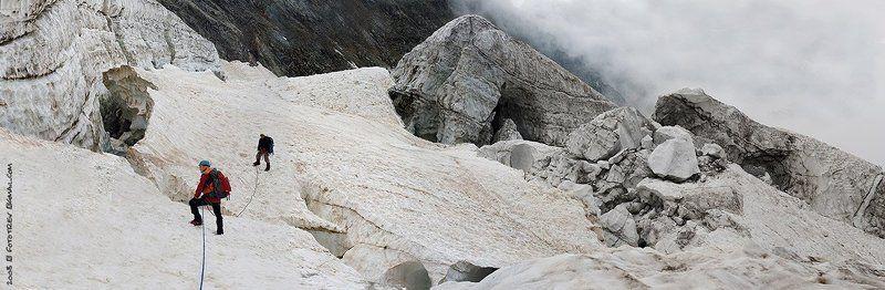 кавказ, адыл-су, ледник, чегеткора ледникphoto preview