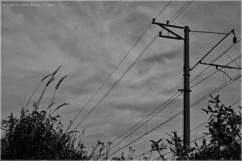 провода, небо, тёмный фолк ...photo preview