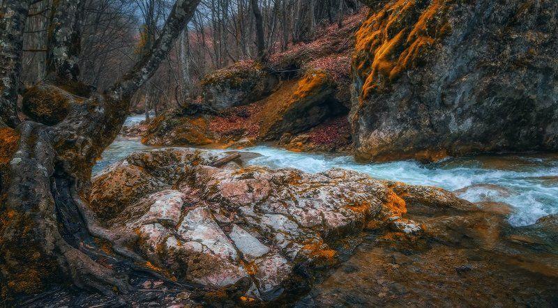 Горный ручей.photo preview