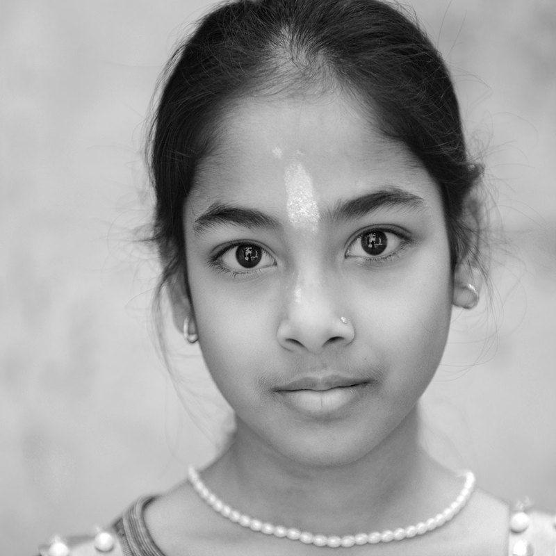 Черно-белая Индияphoto preview