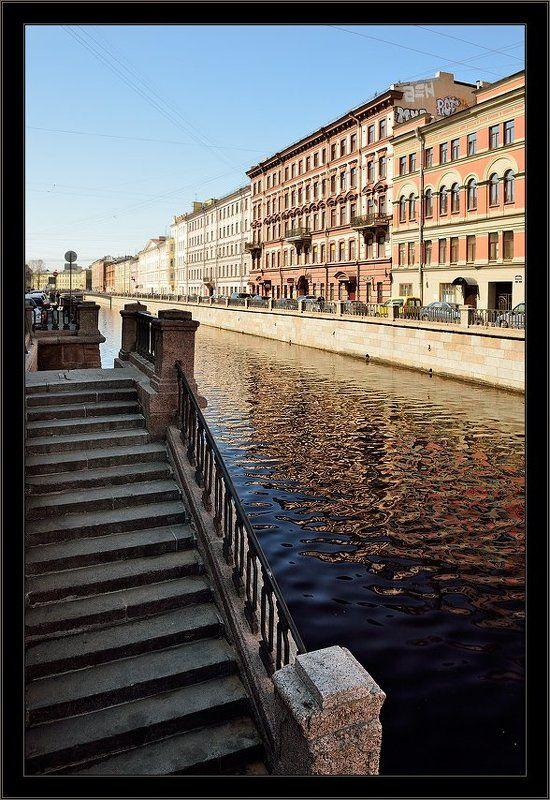 петербург, центр, канал грибоедова, весна Цветная и теплая простая питерская зарисовка с канала Грибоедоваphoto preview