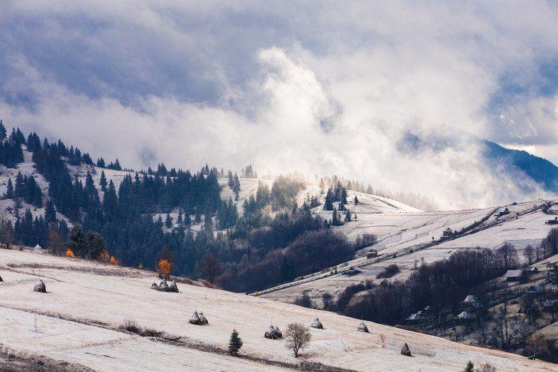 карпаты, утро, первый, снег, горы ПЕРВОЕ УТРО ПЕРВОГО СНЕГА. /серия/photo preview