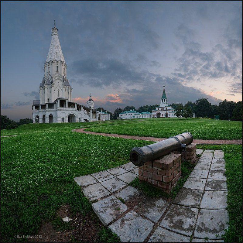 вечерняя москва, коломенское, москва После дождичка в Коломенском.photo preview