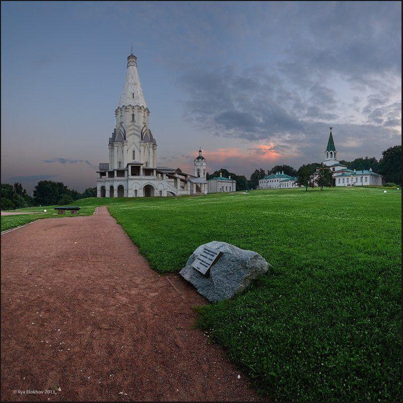 архитектура, коломенское, москва, церковь вознесения господня Церковь Вознесения Господня в Коломенскомphoto preview