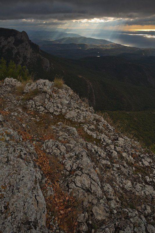 Демерджи, Крым, Рассвет, Черное море Светопредставлениеphoto preview