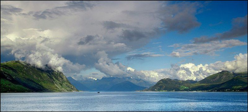 norway, fjord Норвежский просторphoto preview