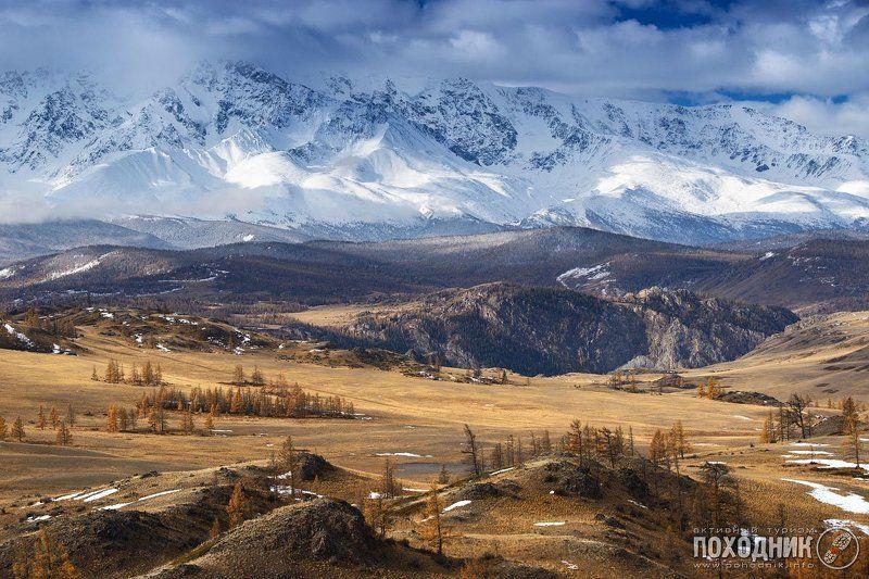 Курайская степь, Северо-чуйский хребет. Горный Алтай.photo preview
