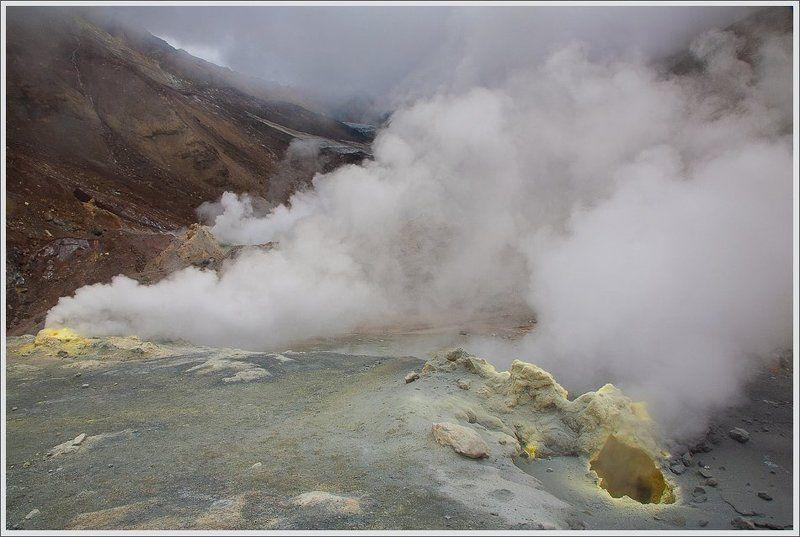 В кальдере вулкана Мутновский.photo preview