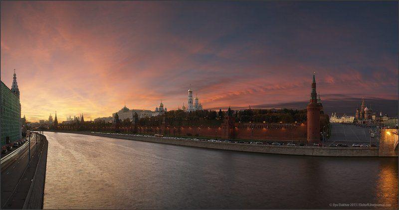 кремль, москва, архитектура, вечерняя москва, городской пейзаж Столичная. Осенняя.photo preview